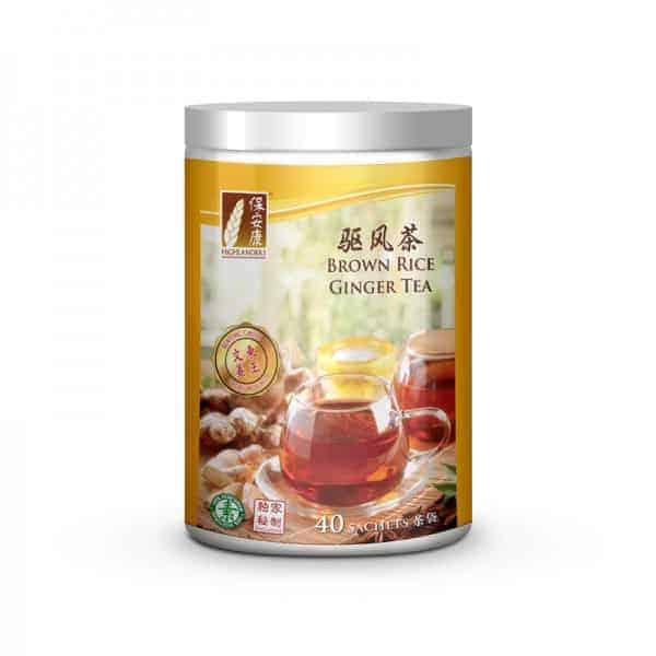 Ginger Brown Rice Tea 40s