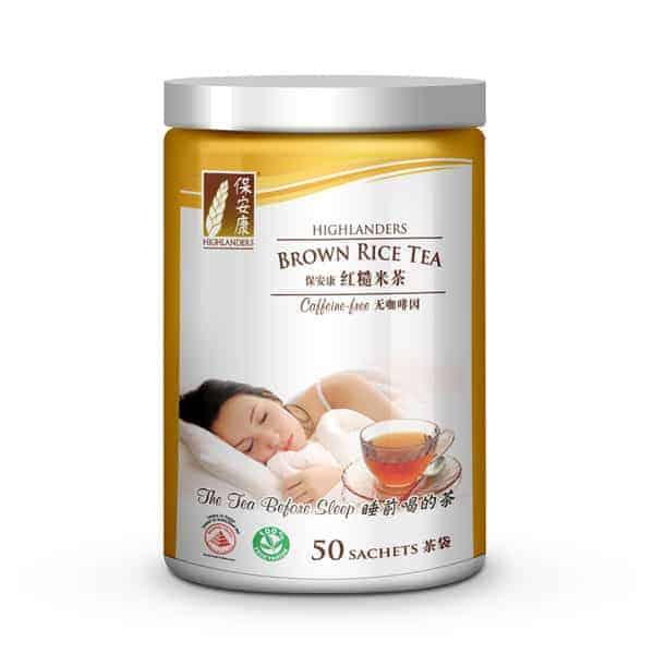 Highlanders Brown Rice Tea - Original 50s