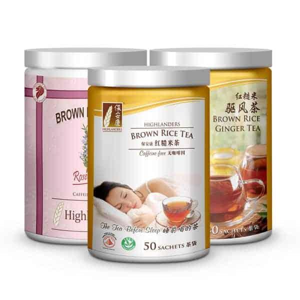 Brown Rice Tea Combo