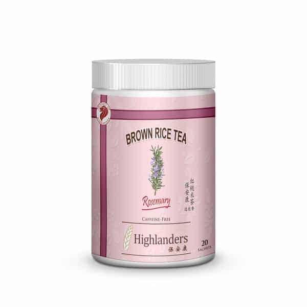 Highlanders Rosemary Brown Rice Tea 20s