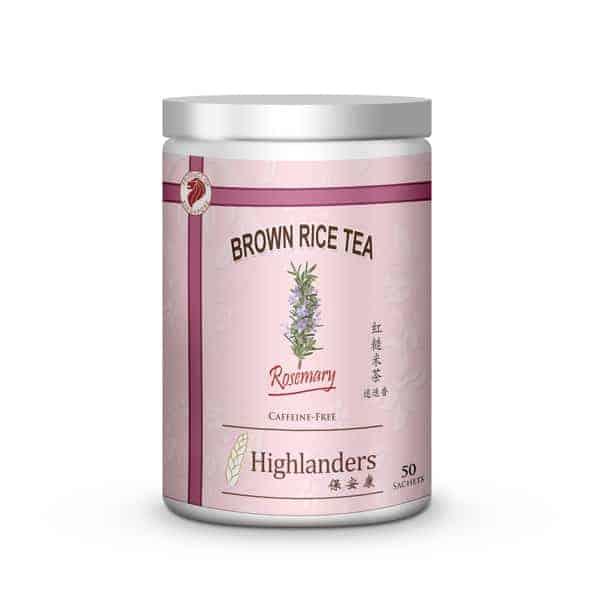 Rosemary Brown Rice Tea 50s