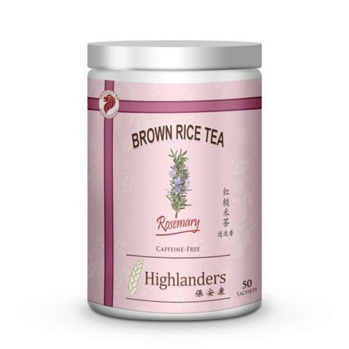 Rosemary Brown Rice Tea 50s