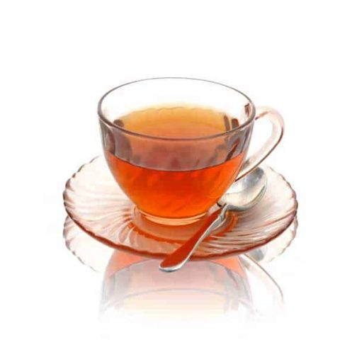 brown rice tea cup