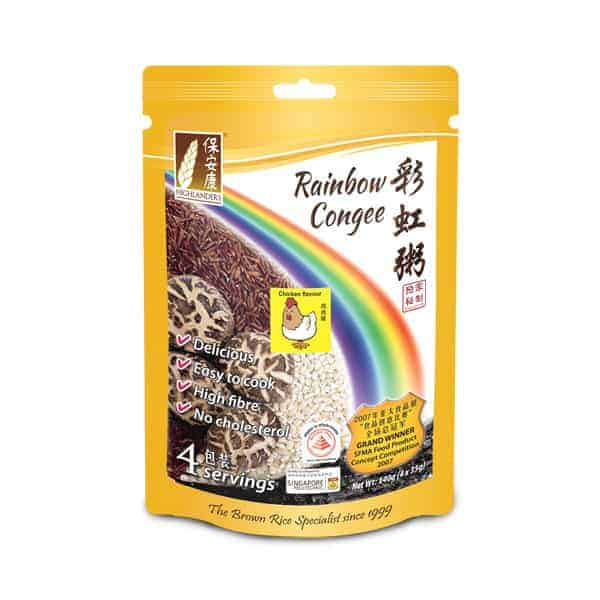 Rainbow Congee - Chicken Flavour