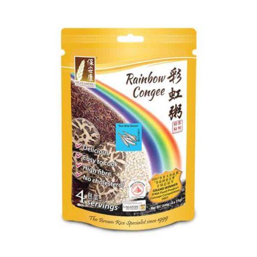 Rainbow Congee - Anchovies (Ikan Bilis) Flavour