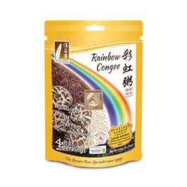 Rainbow Congee - Mushroom Flavour