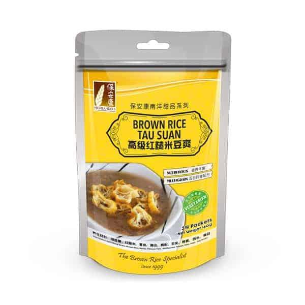 Brown Rice Tau Suan