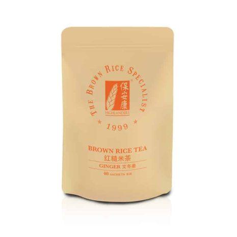 Highlanders Bentong Ginger Brown Rice Tea Refill Pack 40s